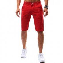 Pánské šortky červené