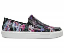 Crocs barevné slip-on boty Citilane Roka Graphic Tropical - W6