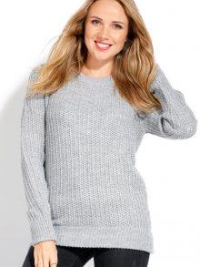 CACHEMIRE FRANCAIS Dámský svetr s kašmírem CFW-333 FLANELLE\n\n