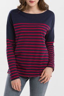 TRIČKO GANT O1. LIGHT WEIGHT STRIPED TOP