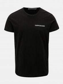 Černé pánské tričko s potiskem Calvin Klein Jeans