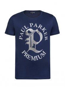 Paul Parker Pánské tričko Pa9610453_MARINE\n\n