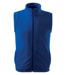 Fleecová vesta Next - Královská modrá | XXXL