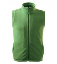 Fleecová vesta Next - Trávově zelená | XXXL