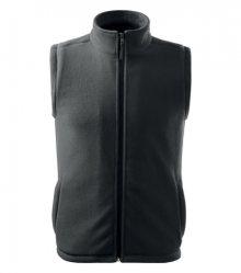 Fleecová vesta Next - Ocelově šedá | XXXL
