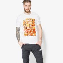 Nike Tričko Ss Tee Vint Shoebox Muži Oblečení Trička 834636100 Muži Oblečení Trička Bílá US XXL