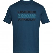 Under Armour Team Issue Wordmark Ss modrá S
