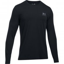 Under Armour Long Sleeve Left Chest černá S
