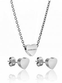 Victoria Walls New York Set náhrdelníku a náušnic VS1056S\n\n