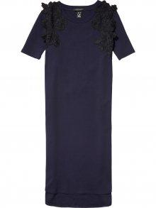 Scotch&Soda tmavě modré dlouhé šaty Lace - S