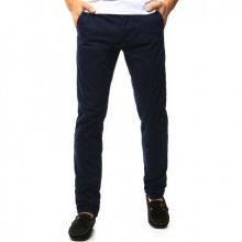 Pánské chino kalhoty tmavě modré
