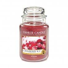 Yankee candle Brusinky na ledu - svíčka ve skleněné dóze\n\n