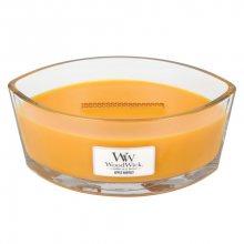 WoodWick Svíčka dekorativní váza WoodWick - Sklizeň jablek 856588, 453.6 g\n\n
