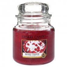 Yankee candle Vonná svíčka ve skle - Ovocný dezert s vanilkovým krémem, 410g\n\n