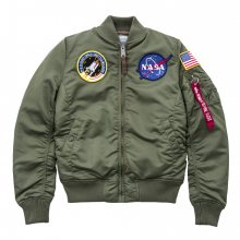 Boty - Alpha Industries | RŮŽOVÝ | S - Dámsky jacket Alpha Industries Ma 1 Vf Nasa 168007 01