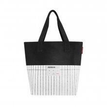 Reisenthel Bílo-černá nákupní taška\n\n