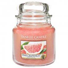 Yankee candle Svíčka ve skleněné dóze - Růžový grep 418911, 410 g\n\n