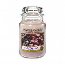 Yankee candle Svíčka Eben a dub, 623 g, 863793\n\n