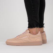 Boty - Reebok Classic | ORANŽOVÝ | 36 - Dámské boty sneakers Reebok Club C85 CN3736