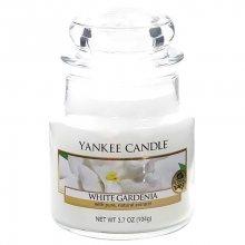 Yankee candle Vonná svíčka ve skle - bílá gardénie 169682, 104g\n\n