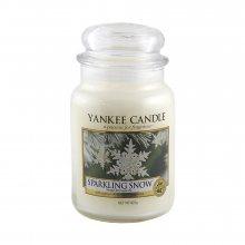 Yankee candle Svíčka Třpytivý sníh, 623 g\n\n