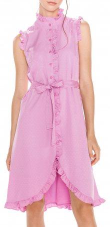 Caroline Šaty Vero Moda   Růžová Fialová   Dámské   XL