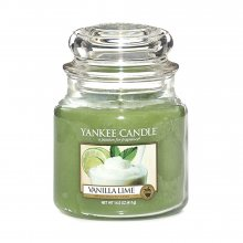 Yankee candle Svíčka Vanilka s limetkami, 410 g, 169676\n\n