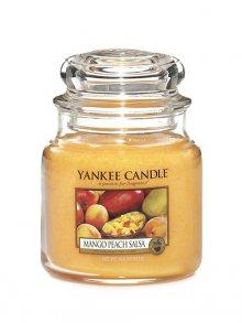 Yankee candle Svíčka ve skleněné dóze - Salza z manga a broskví, 410 g\n\n