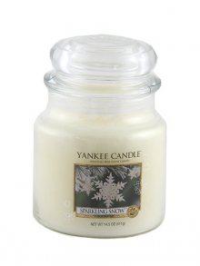 Yankee candle Svíčka ve skleněné dóze - Třpytivý sníh, 410 g\n\n