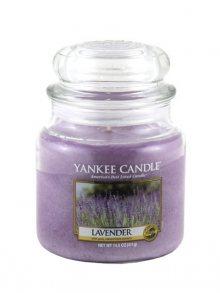 Yankee candle Svíčka ve skleněné dóze - Levandule, 410 g\n\n