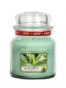 Yankee candle Svíčka ve skleněné dóze - Voda s Aloe, 410 g\n\n