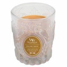 WoodWick Svíčka skleněná váza WoodWick - Smyslné koření 863817, 198.4g\n\n