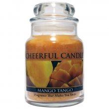Cheerful Candle Vonná svíčka ve skle Mangové tango_6oz\n\n
