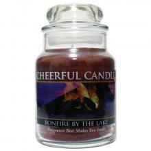 Cheerful Candle Vonná svíčka ve skle Léto u jezera_6oz\n\n