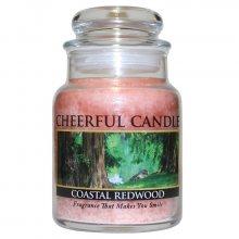 Cheerful Candle Vonná svíčka ve skle Sekvojový břeh CB48_6oz\n\n