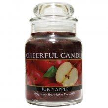 Cheerful Candle Vonná svíčka ve skle Šťavnaté jablko CB08_6oz\n\n