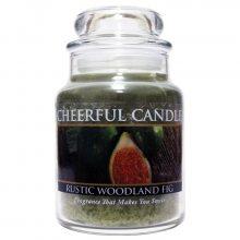 Cheerful Candle Vonná svíčka ve skle Kouzelný les a fík CB34_6oz\n\n