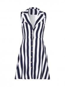 Iska Dámské šaty RA2435_NAVY/WHITE\n\n