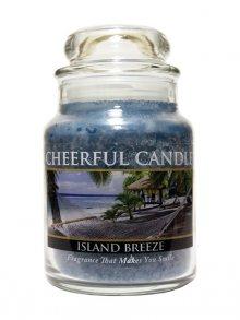 Cheerful Candle Vonná svíčka ve skle Tropický vánek CB28\n\n