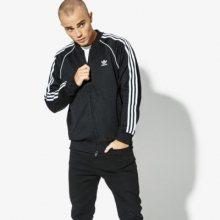 Adidas Mikina Sst Tt Adicolor Muži Oblečení Mikiny Cw1256 Muži Oblečení Mikiny Czarny US L