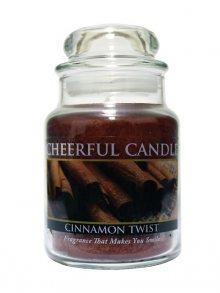 Cheerful Candle Vonná svíčka ve skle Skořice CB13\n\n