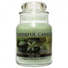 Cheerful Candle Vonná svíčka ve skle Den v lázních CB01_6oz\n\n