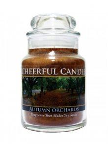 Cheerful Candle Vonná svíčka ve skle Podzimní sad CB65\n\n