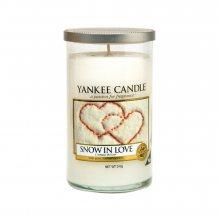 Yankee candle Svíčka Zamilovaný sníh, 340 g, 169761\n\n