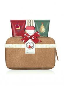 Baylis & Harding Dárková sada v kosmetické kabelce - Moruše, Jmelí a Vánoční stromek\n\n