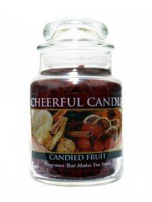 Cheerful Candle Vonná svíčka ve skle Kandované ovoce CB17\n\n