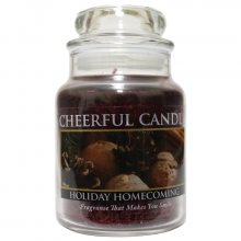 Cheerful Candle Vonná svíčka ve skle Návrat z prázdnin CB62_6oz\n\n