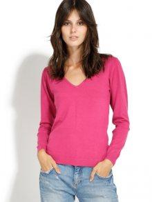 William de Faye Dámský svetr s kašmírem WF310 CERISE\n\n