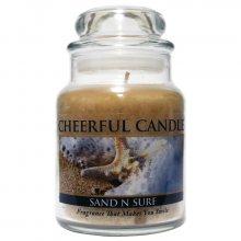 Cheerful Candle Vonná svíčka ve skle Mořský příliv_6oz\n\n