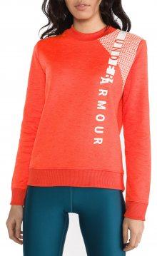Armour Fleece® Mikina Under Armour | Červená Oranžová | Dámské | L